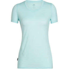 Icebreaker Tech Lite SS Low Crewe Top Women aqua splash